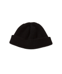 왓에버위원트(WHATEVERWEWANT) [UNISEX] WOOL 100 BEANIE [BLACK]