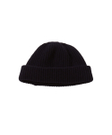 왓에버위원트(WHATEVERWEWANT) [UNISEX] WOOL 100 BEANIE [NAVY]