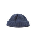 왓에버위원트(WHATEVERWEWANT) [UNISEX] WOOL 100 BEANIE [DENIM]