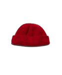 왓에버위원트(WHATEVERWEWANT) [UNISEX] WOOL 100 BEANIE [RED]