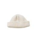 왓에버위원트(WHATEVERWEWANT) [UNISEX] WOOL 100 BEANIE [IVORY]