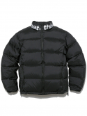 디스이즈네버댓(THISISNEVERTHAT) SP-Logo Puffy Down Jacket Black
