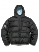 디스이즈네버댓(THISISNEVERTHAT) Hooded Puffy Down Jacket Black