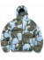 Hooded Puffy Down Jacket Sky Blue