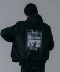 유니스디자인(UNIIS DESIGN) UNS MA-1 WOOL JACKET_BLACK