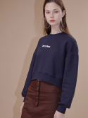 아웃스탠딩오디너리(OUTSTANDING ORDINARY) CONTACT SWEATSHIRTnavy