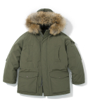 유니폼브릿지(UNIFORM BRIDGE) 17fw arctic down parka khaki