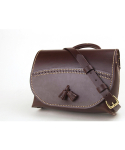 Tassel Shoulder Bag (No.1) (Dark brown)