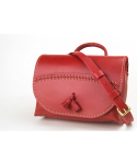 스케르잔도(SCHERZANDO) Tassel Shoulder Bag (No.1) (Red)