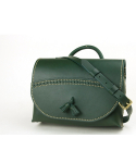 Tassel Shoulder Bag (No.1) (Green)