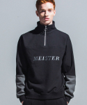 어반스터프() USF MEISTER HALF ZIP SWEAT SHIRTS BLACK
