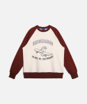 UR MOUTHFUL SWEATSHIRTS (기모) WINE