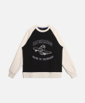 UR MOUTHFUL SWEATSHIRTS (기모) BLACK