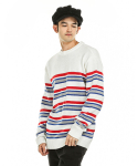 FATBELLY : Save Coloration Stripe Knit 아이보리