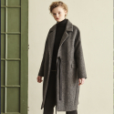 메종드이네스(MAISONDEINES) OVER HERRINGBONE COAT_GREY