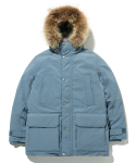 라이풀() SHELTER DOWN PARKA light blue