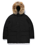 라이풀() SHELTER DOWN PARKA black