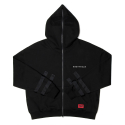 네스티팜() [NYPM] SECLUSION HOOD ZIP-UP (BLK)