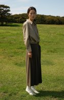누보텐(NUVO10) pleated culotte pants