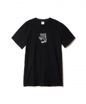 PARADISE YOUTH CLUB / SURRENDER SS TEE / BLACK