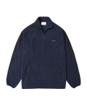 인사일런스(INSILENCE) Full Zip Fleece Jacket Navy