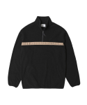 인사일런스() Half Zip Fleece Jacket Black