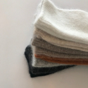 오뜨르 뒤 몽드(AUTOUR DU MONDE) ANGORA SIMPLE SOCKS (3SET)