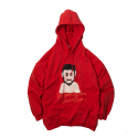 MINORITY HOODIE SWEAT SHIRTS RED (NEEDLE SWEAT)