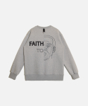 UR FAITH SWEATSHIRTS(기모) GREY
