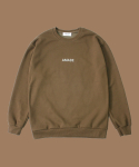어메이드(AMADE) WARM SWEAT SHIRTS BROWN