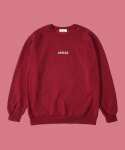 어메이드(AMADE) WARM SWEAT SHIRTS RED