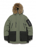 Mountain Down Parka Olive