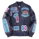 더 매드니스() ALL OVER LEATHER JKT_NV
