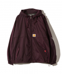 FUCT / FULL ZIP ANORAK JACKET / MAROON