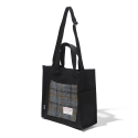CHEAPEST FLIGHT ECO BAG - H.T BLACK