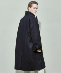 살롱드서울(SALON DE SEOUL) UNISEX DOUBLE OVERCOAT (BLACK)