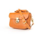 Punching Mini Shoulder Bag (No.1) / TAN