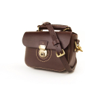 Punching Mini Shoulder Bag (No.1) / Dark brown