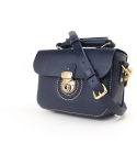 스케르잔도(SCHERZANDO) Punching Mini Shoulder Bag (No.1) / Navy