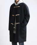 쟈니웨스트() Winter Duffel Coat (Black)