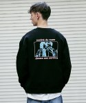 매스노운(MASSNOUN) WITCH HUNTER II SWEATSHIRT MFVCR011-BK