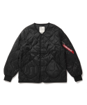 알파 인더스트리(ALPHA INDUSTRIES) UOA:UO X ALPHA INDUSTRIES LINER JACKET / CJU46120C1 - BLACK