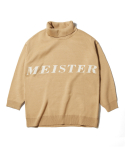 어반스터프() USF OVER JACQUARD TURTLENECK BEIGE