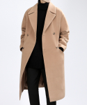 TP85 WINTER DOUBLE LONG COAT (BEIGE)