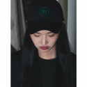 뮤트먼트(MUTEMENT) BLACK BASIC LOGO CAP