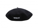 RUTHLESS LOGO BERET / BLACK