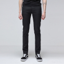 누디진() [NUDIE JEANS] Thin Finn Org. Back 2 Black 112431