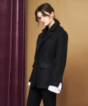 TAILORED WOOL JACKET BLACK