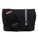 핍스() [핍스 5주년 기념패키지] PEEPS essential messenger bag(stripe_black)
