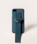 SUN CASE LEATHER GREENNAVY